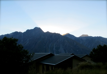 Sunrise at Mt. Arokai / Mt. Cook - New Zealand