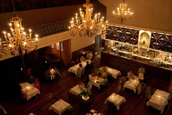 Bacchus Restaurant - photo by visitnsw.com