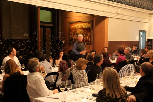 The Hunter Valley Winegrowers Dinner, Mark Davison - photo by the Wine Idealist