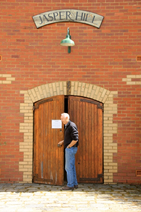 Ron Laughton, Jasper Hill Cellar Door - photo by The Wine Idealist