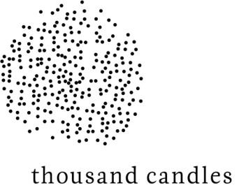 thousandcandles_b&w