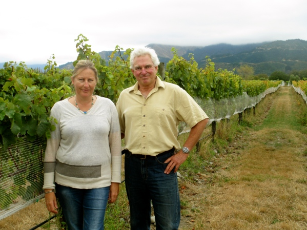 Claire and Mike Allan - photo by The Wine Idealist
