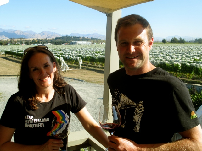 Anna & Jason Flowerday - photo by The Wine Idealist
