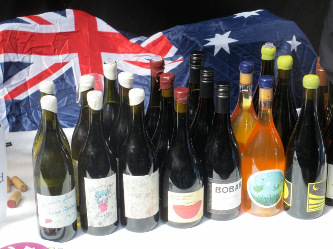 The Flag Needs an Iron - photo by The Wine Idealist
