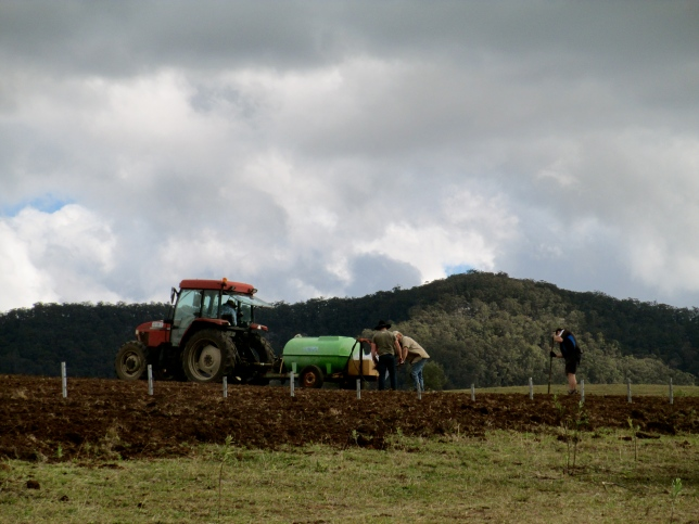 Tinklers New Biodynamic Vineyard - photo by The Wine Idealist
