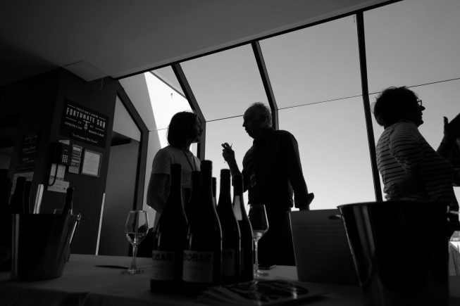 Tom Belford and Ron Laughton - photo by The Wine Idealist