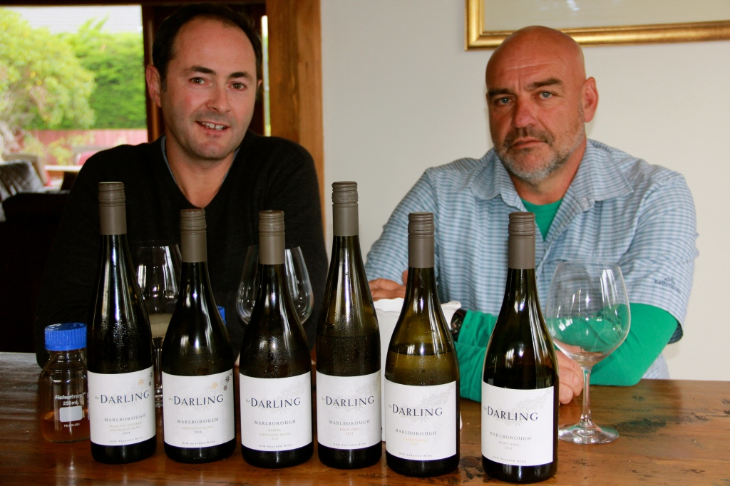 Chris Darling and Bart Arnst - photo by The Wine Idealist