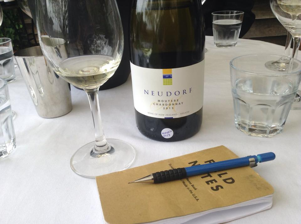 Moutere Tasting Notes - photo by The Wine Idealist